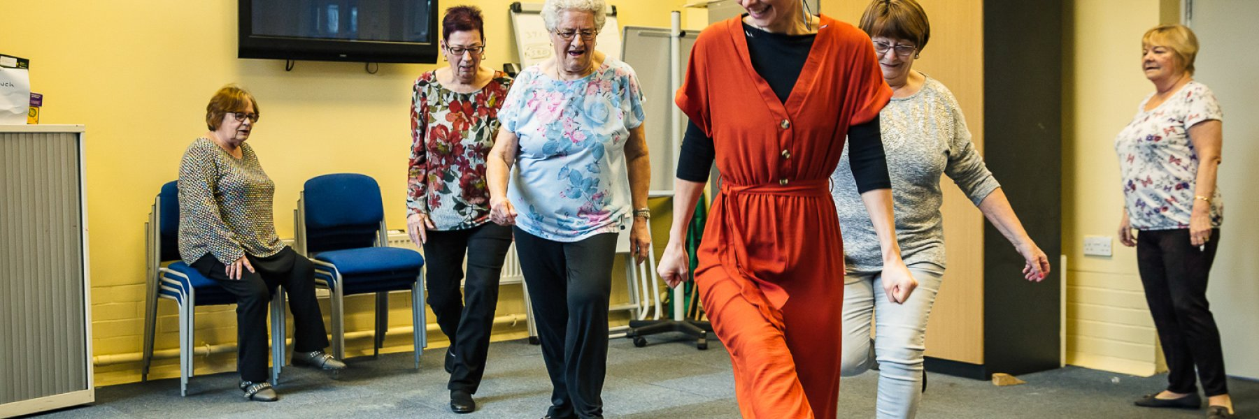 New Over 50's dance class for all!