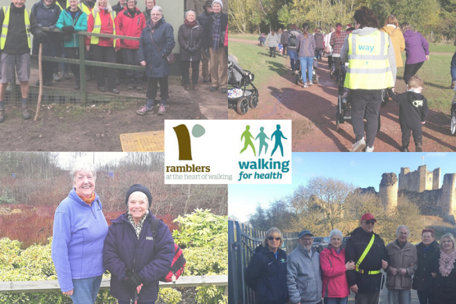 Doncaster Health Walk Volunteers lead the Way to Support Reducing Social Isolation