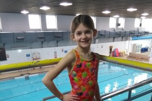 Talented young swimmer and charity fundraiser selected to represent Doncaster