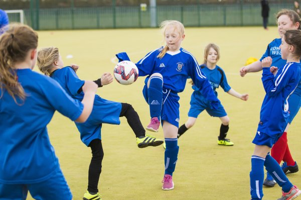 GAME ON GIRLS TO TACKLE STATISTICS SHOWING JUST 41% OF FEMALES PLAY FOOTBALL